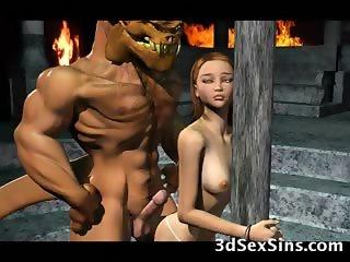 Demons Bang 3D Babes!