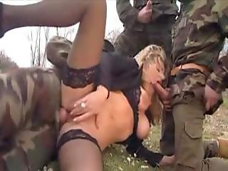 Wife gangbanged by soldiers