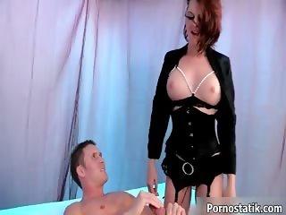 Cock loving brunette slut gets fucked part2