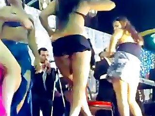 Dance in the Egyptian popular wedding