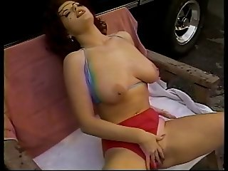 Red panties fucked hard