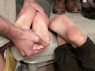 Double Footjob