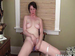 Sexy dildo fucking