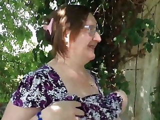 DENHAAGMAN- DIRTY GRANNY AT TRUCKSTOP LETS ME FEEL HER PUSSY