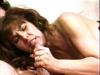 Brunette mature cocksucking mom