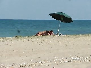 romanian cuple sex on the beach