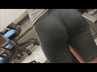 nice fat booty in library vpl