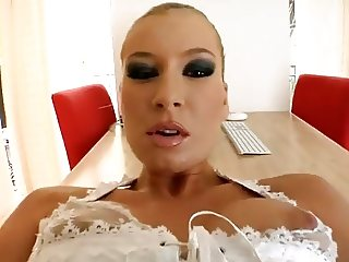 Angelina love: Doll angel face and body bitch