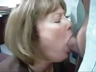 Mature Head #38 (Office Slut doing her Job)