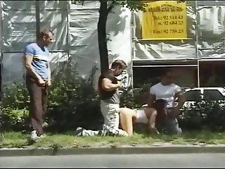 Extreme Public Sex: Street Gangbang