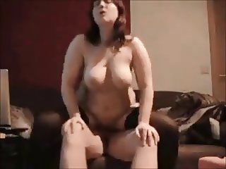 Curvy wife ass fucked on real homemade