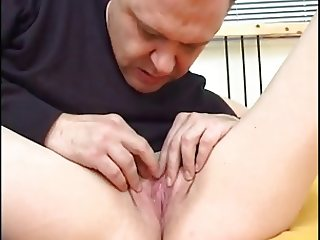 Oldman Fucks a beauty Long-hair girl