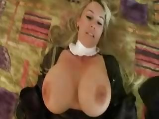 Naughty Nun Gets A Facial