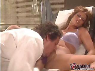 Beautiful Brunette Star E. Knight Gets Her Doctor Nurse