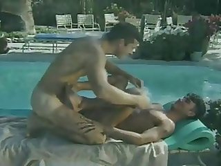 Furious anal loading with super hot muscled gay studs