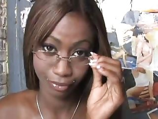 Gloryhole For Ebony in Glasses