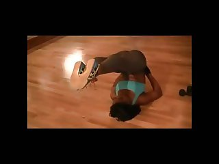 Sexy Black Nigerian Flexible FBB African Chick (PG) - Ameman