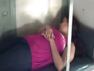 my girlfriend in train-2