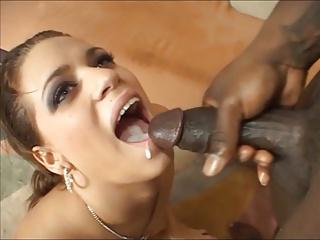 Pretty Big Tittied Mia Is A Freak For BBC