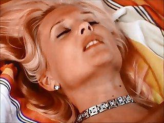 Blonde dutch angel get a good facial (2 views)