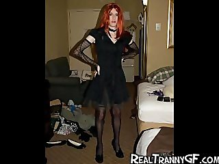 Hot Teen Crossdresser GFs!