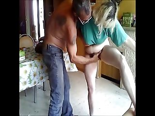 DENHAAGMAN - UGLY DAUGHTER GETS FINGER FUCKED