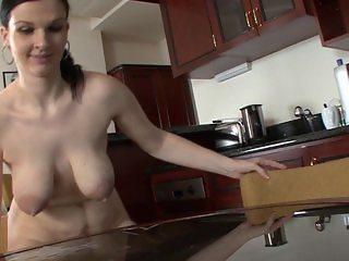 horny lactating saggy tits