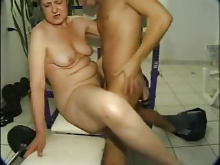 Mature woman and guy - 24