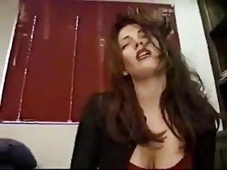 she grinds it till huge orgasm
