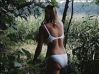 Slomo movie bouncing boobs tits under top