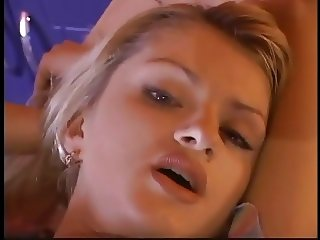 Beautiful European blonde getting fucked