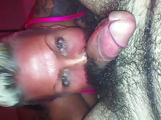 mature housewife gives great blow rimjob
