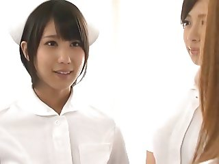 Japanese Lesbians (2 nurses learn to operate on the doctor)1