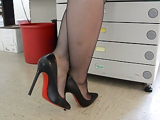 Feet in Nylon - Video 5