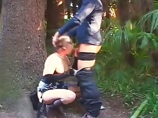 Slut Rough Fucking Outdoors By 3 Different Men Rm450