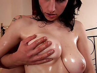 Caroline Busty Natural Tits 1
