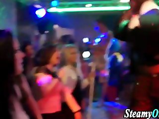 Clothed teens get slammed at amateur party