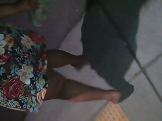 lil sister skirt late night