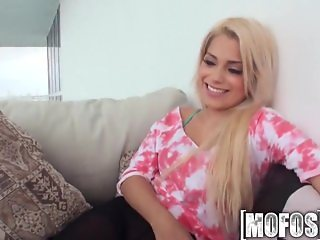 Mofos - Cute Latina teen loves big dick