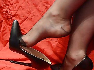 Feet in Nylon - Video 7