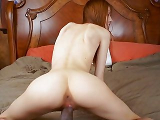 Big Black Cock Teen POV - Jenna Justine