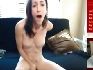 White Girl Finds Black Cock on webcam