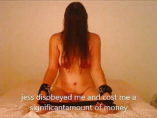 jess is punished with a very severe belting