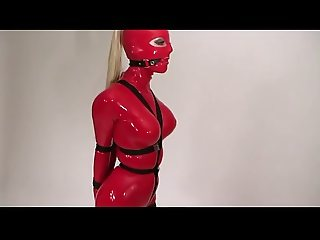 Latex Strap Bondage