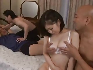 Wife gangbanged by Visitors