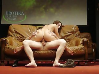Fuck on the stage at Erotic Expo 2010 with Susanna White