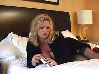 Hot Mature Cougar Smoking and Banging