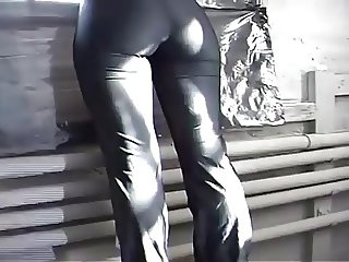 Cameltoe Spandex Leggings Pantyhose part 4