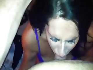Gorgeous MILF's Seductive Deepthroat BJ