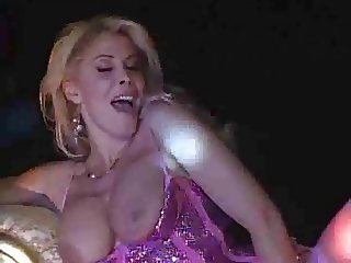 Milly D'Abbraccio - Classy blonde MILF dancing on the stage